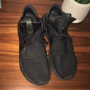 Adidas Black Tubular High Top